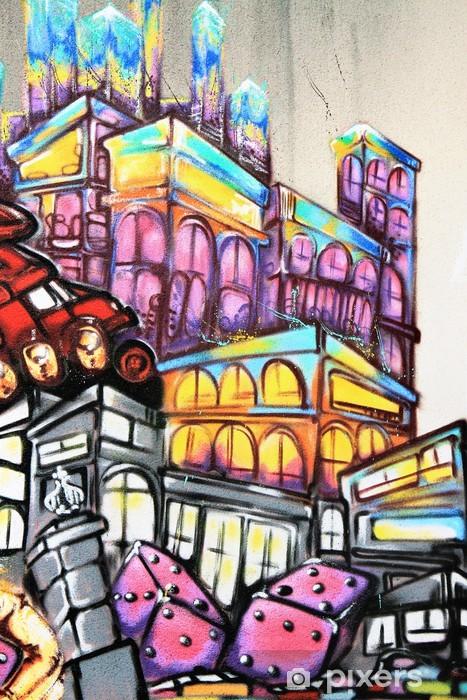 Graffiti - Street art Pixerstick Sticker - Themes
