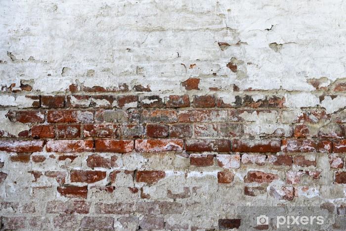 Fotomural Lavable Abstracción de fondo rojo ladrillo - iStaging
