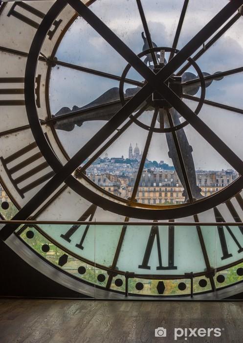 Fototapeta winylowa Zegar w Muzeum d'Orsay, Paryż - Zegary