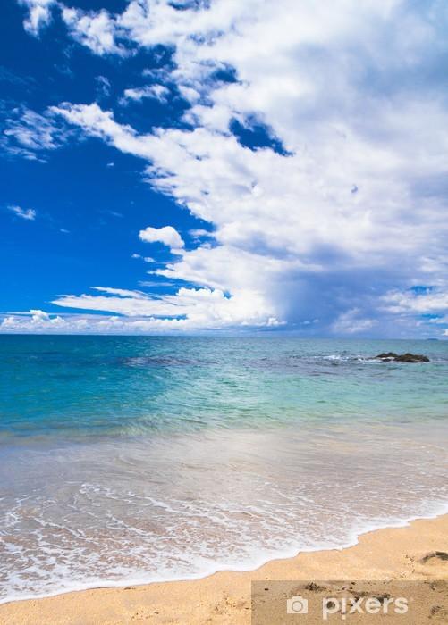 Naklejka Pixerstick Niebiański niebieski surfowania słońce - Pory roku
