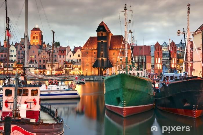 Papier peint vinyle Gdansk - iStaging