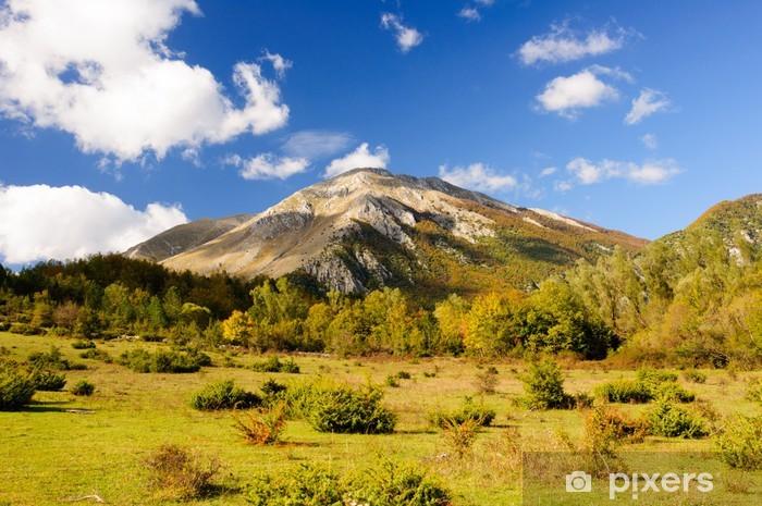 Abruzzo monte marsicano Vinyyli valokuvatapetti - Vuoret