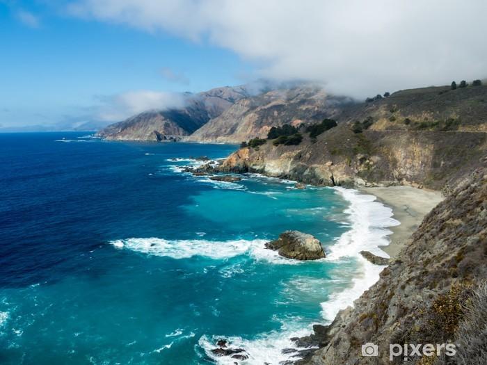 Papier peint vinyle La côte de Big Sur - Amérique