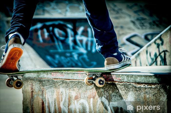 Fototapeta winylowa Deskorolka - Skateboarding