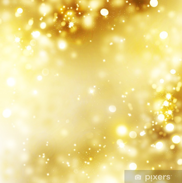 Sfondi Natalizi Oro.Carta Da Parati In Vinile Fondo Oro Natale Oro Vacanza Sfondo Incandescente