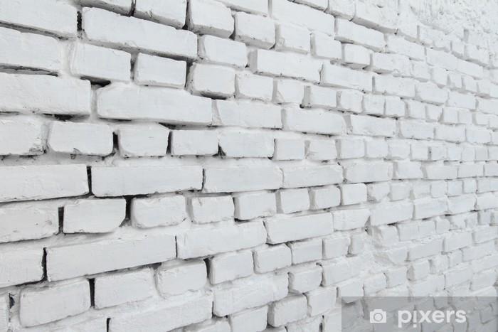 Papier Peint Mur Brique Blanc