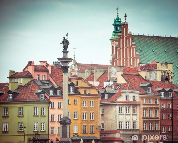 Fototapeta winylowa Warszawskie Stare Miasto kwadratowych - Tematy