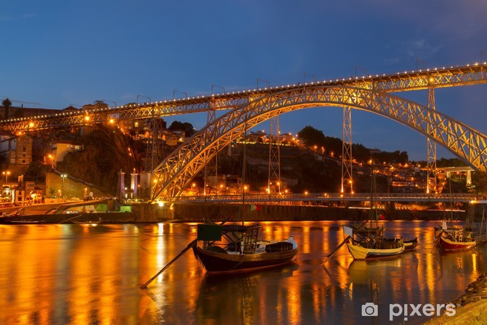 Fototapeta winylowa Most Dom Luis, Portugalia - Tematy