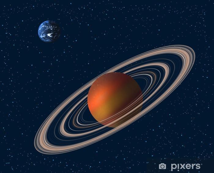 Papier peint vinyle Système solaire Planète - Planètes
