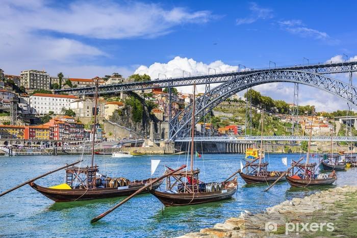 Vinilo Pixerstick Oporto, Portugal paisaje urbano - iStaging