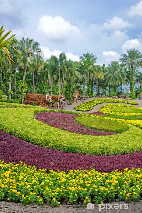 Nong Nooch Tropical Botanical Garden, Pattaya, Thailand Vinyl Wall Mural - Holidays
