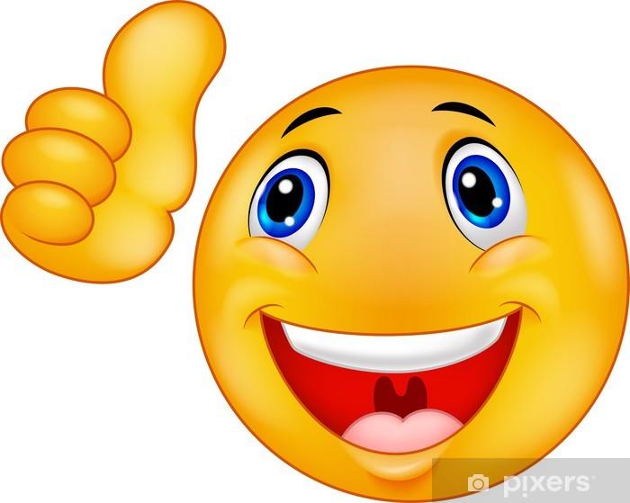 Sticker smiley heureux smiley de visage pixers nous vivons pour changer - Image sourire gratuit ...