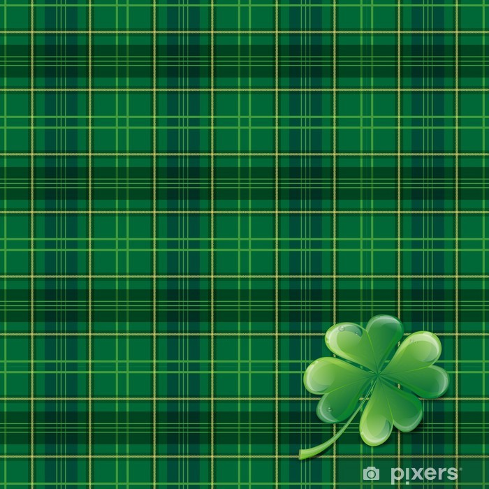 Fototapeta winylowa St Patricks Day Background - Tekstury