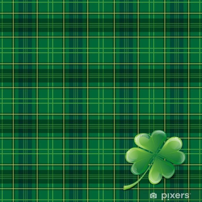 Naklejka Pixerstick St Patricks Day Background - Tekstury