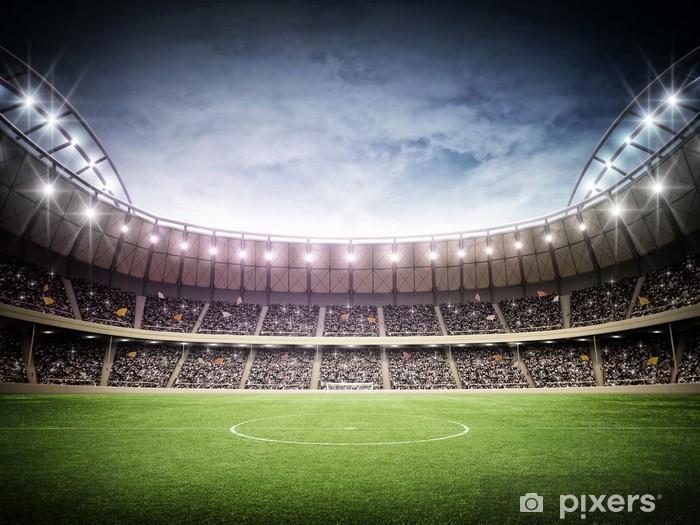 Fotomural Estándar Estadio noche - Fútbol Americano