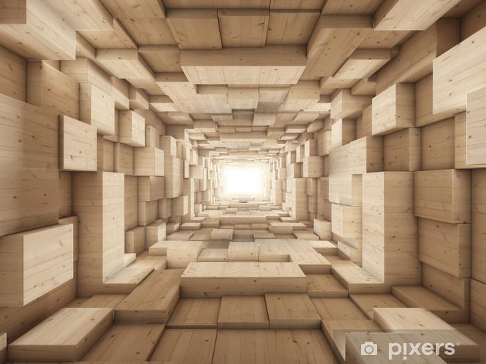 Afwasbaar Fotobehang Eind van de tunnel - Vrijheid