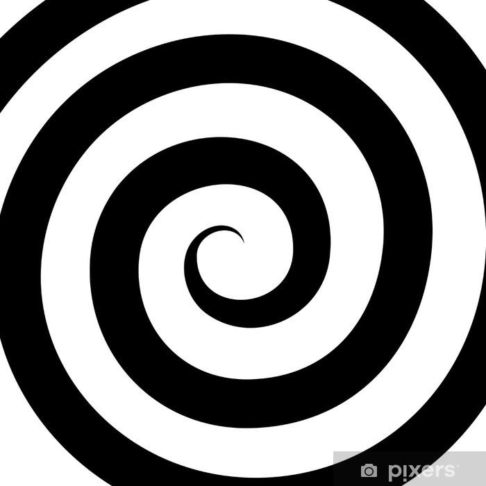 Fototapeta samoprzylepna Hipnoza spiral wzór. złudzenie optyczne. wektor - Tematy
