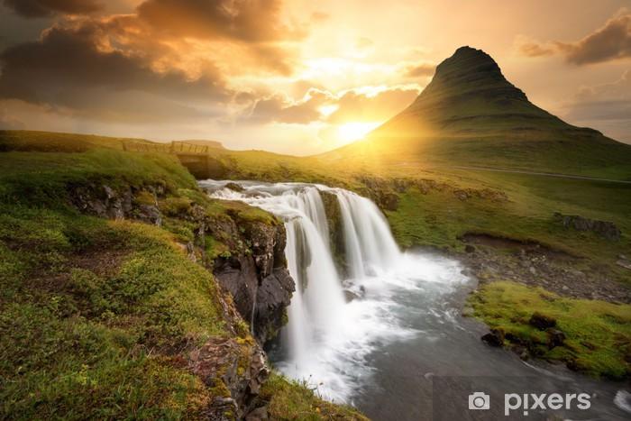 Afwasbaar Fotobehang Iceland - Thema's