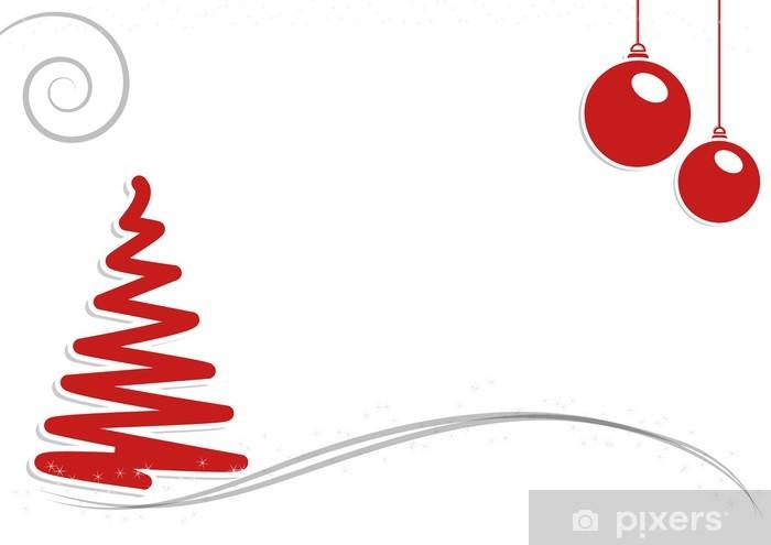 Biglietti Auguri Natale.Adesivo Biglietto Auguri Natale Pixerstick