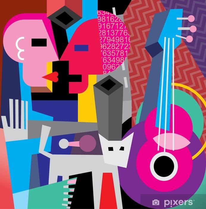Papier peint vinyle The dance - Thèmes