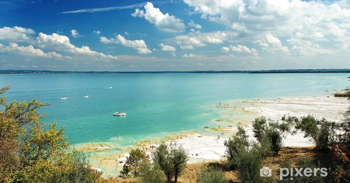 Papier peint vinyle Lac de Garde (Italie) - Europe