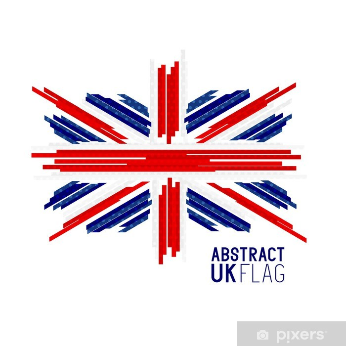 Fototapete Union Jack UK flag