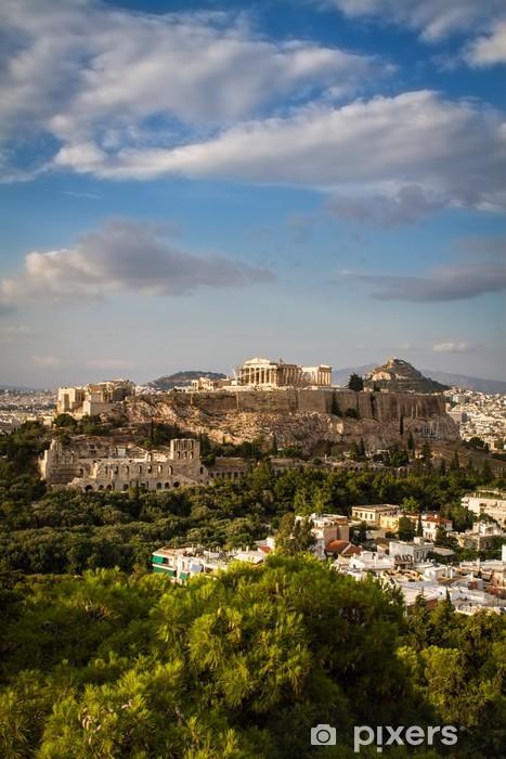 Fototapet av Vinyl Parthenon, tempel på Atens Akropolis - Teman