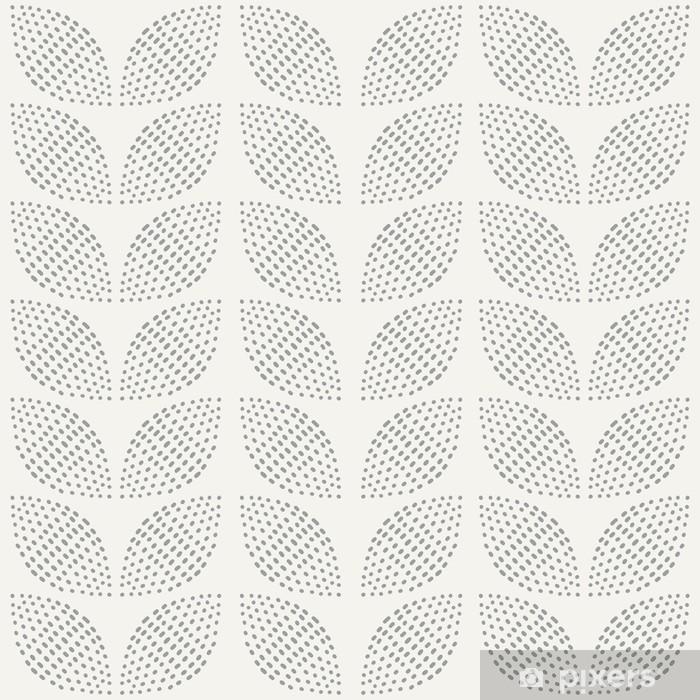 Cortina opaca Patrón sin fisuras. Dibujado a mano. Flor. antecedentes de diseño - Fondos