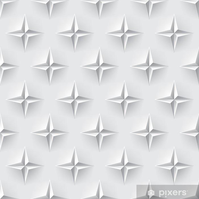 White 3d seamless texture Pixerstick Sticker - Graphic Resources