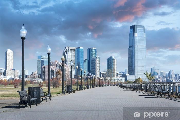 Pixerstick Aufkleber Liberty State Park New Jersey City - Amerikanische Städte