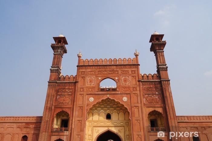 Badshahi Mosque in Lahore,Pakistan Wall Mural - Vinyl