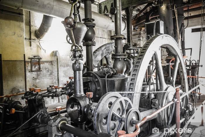 Fototapeta winylowa Zardzewiałe ruine przemysłowe - Przemysł ciężki