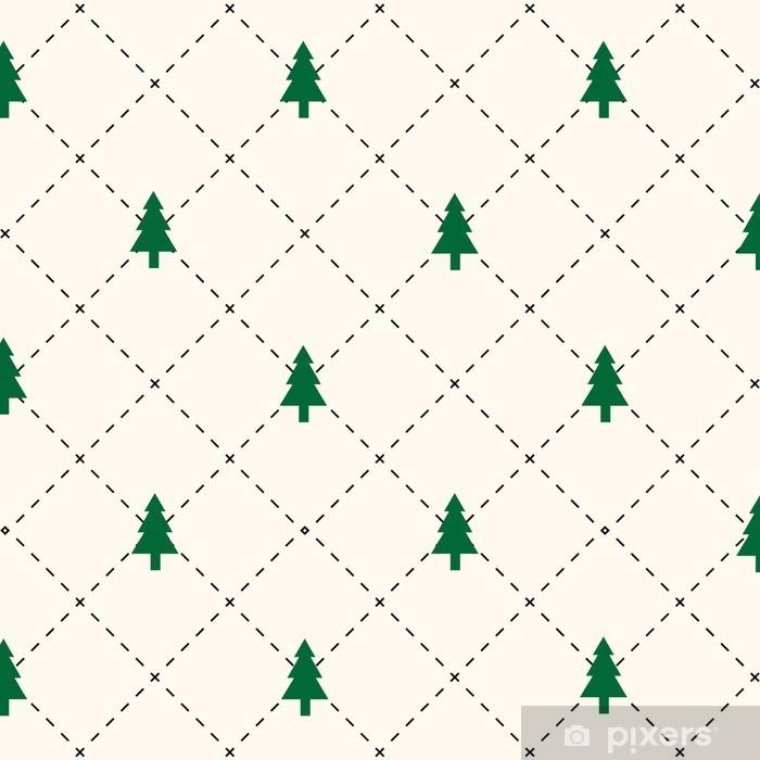 Papier peint vinyle Modèle d'arbre vert - Ressources graphiques