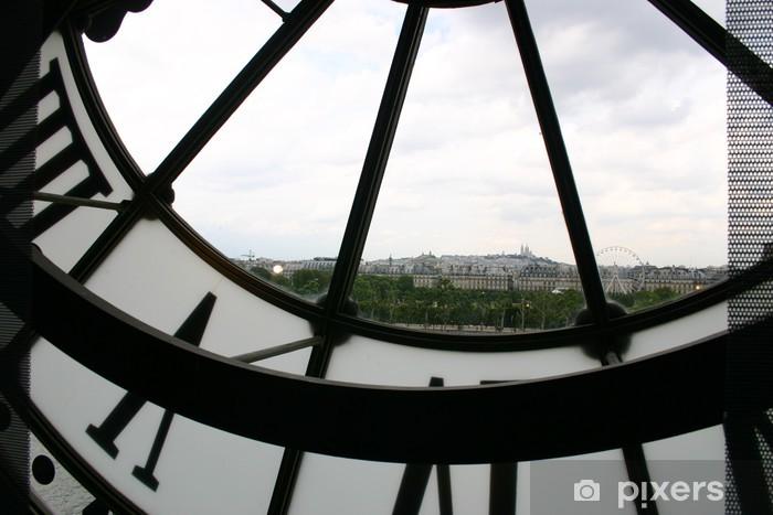 Fotomural Estándar Reloj de Musee de Orsay - Los Relojes