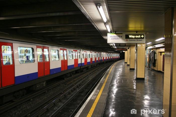 Papier peint vinyle La station de métro - Thèmes