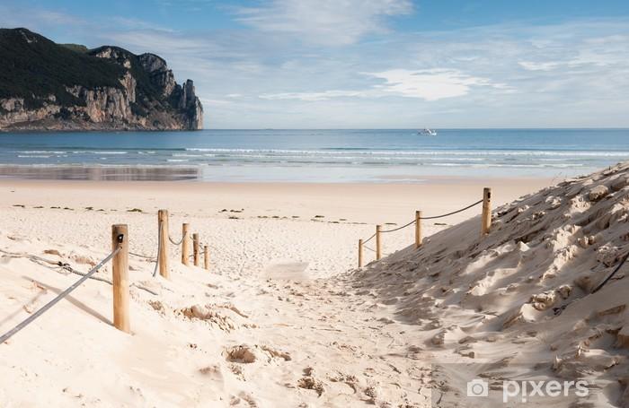 Vinilo Pixerstick Playa de Laredo, España 02 - Vacaciones