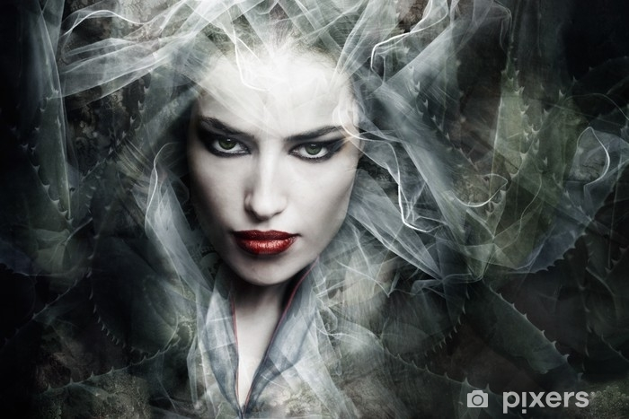 Alfombrilla de baño Hechicera de fantasía - Sensaciones y emociones