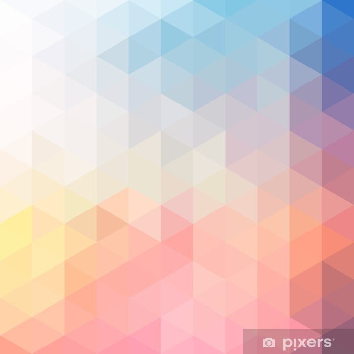 POLYGON BACKGROUND Pixerstick Sticker - Backgrounds