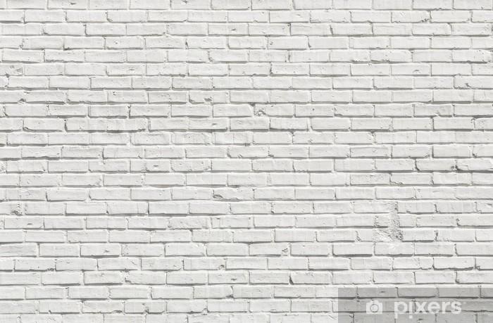 Genial Papier Peint Mur Brique Blanc