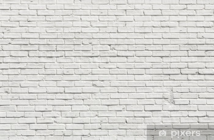 sticker mur brique blanc pixers nous vivons pour changer. Black Bedroom Furniture Sets. Home Design Ideas