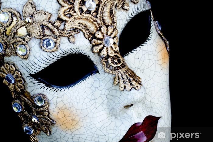 Fototapeta winylowa Weneckie maski -