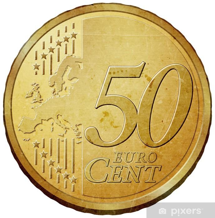 Fototapete 50 Cent Münze Eur Pixers Wir Leben Um Zu Verändern