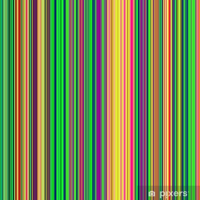 Papier peint vinyle Résumé couleurs vives psychédéliques vertical des lignes de fond. - Thèmes