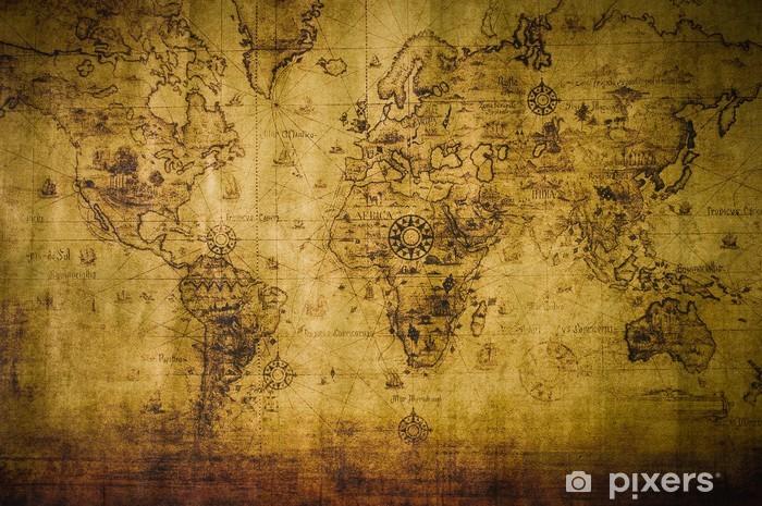 Koc pluszowy old map - Tematy