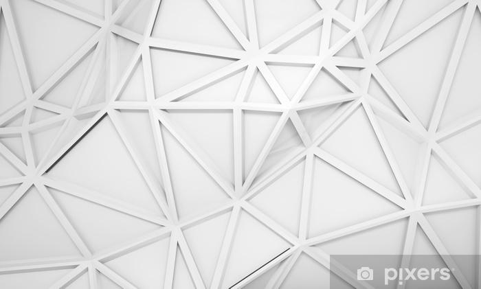 Fototapeta winylowa Abstrakcyjne tło 3d z wzorem wielobocznej ulgi - Zasoby graficzne