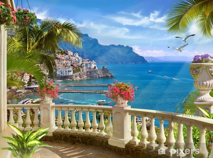 Fototapeta winylowa Śródziemnomorski krajobraz - Inne