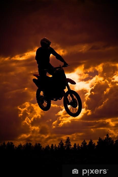 Fototapeta winylowa Motocross - Transport drogowy