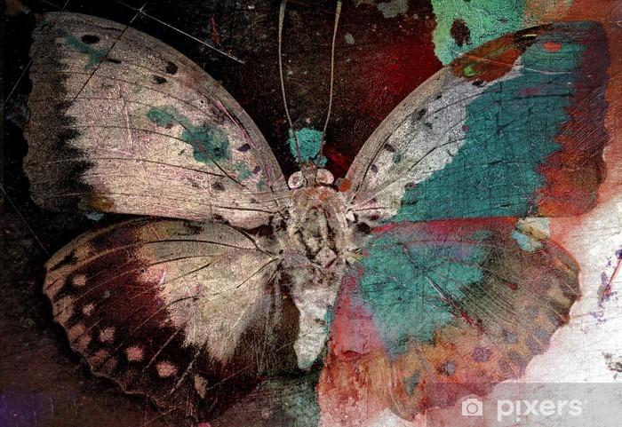 Carta da Parati in Vinile Farfalla - Preghiere, Meditazione e Rilassamento