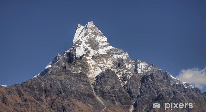 Fototapeta winylowa Mocowanie machapuchare się w Annapurna gór Nepalu - Azja