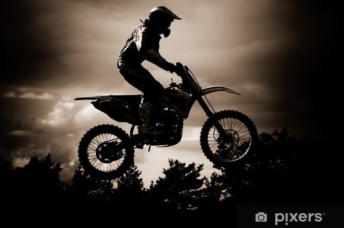 Fototapeta winylowa Motocross - iStaging